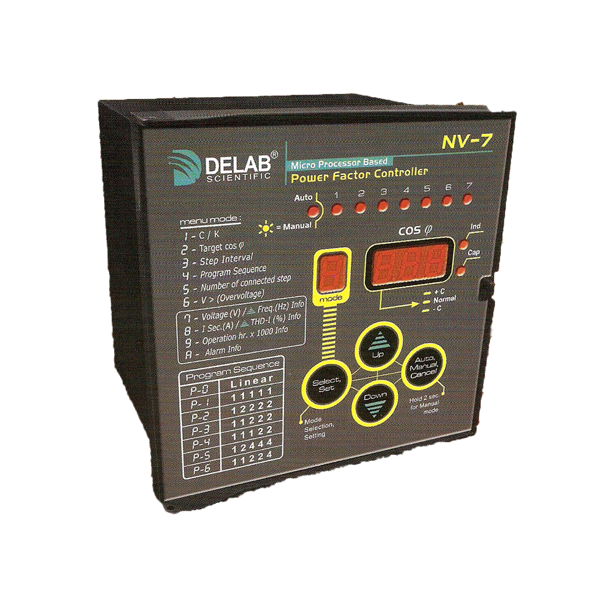 Delab Scientific Earth Protection Relay Digital Microprocessors Switch